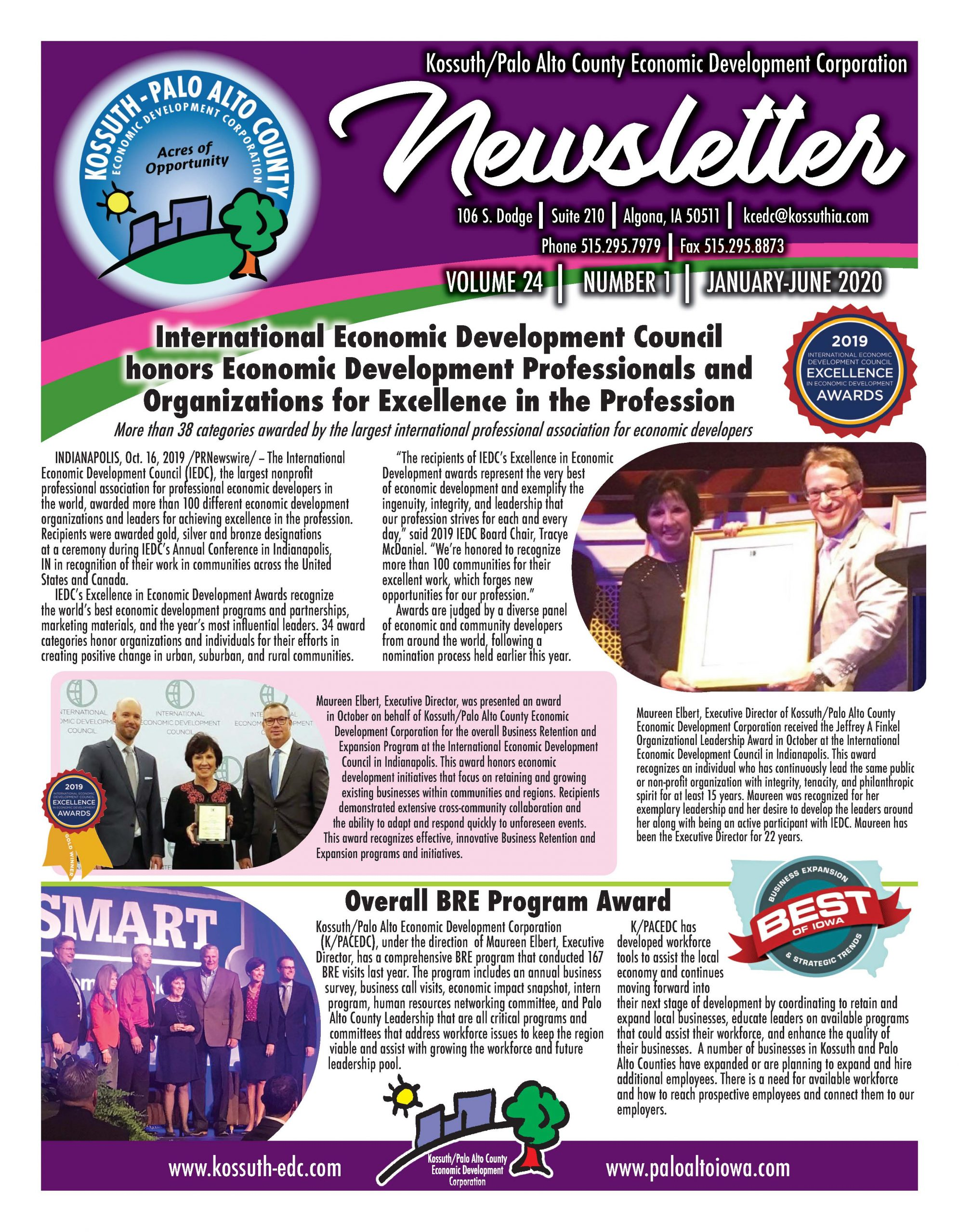KCEDC Jan June 2020 Newsletter PAGE 1 IMAGE.WEBSITE