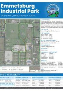Emmetsburg Industrial Park Bifold Brochure FOR PRINT